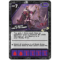 Quarriors! Key Master Lord of the Quarry Promo Card