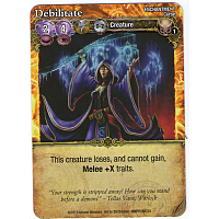 Mage Wars: Debilitate Promo Card