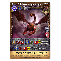 Mage Wars: Asto Vidatu, Angel Slayer Promo Card