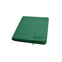 Ultimate Guard 12-Pocket QuadRow ZipFolio XenoSkin Green