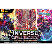 Future Card Buddyfight - Terror of the Inverse Omni Lords Perfect Pack - Booster Display (10 Packs)