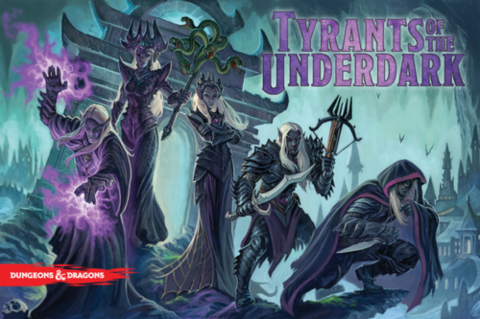 Dungeons & Dragons – Tyrants Of The Underdark Board Game_boxshot
