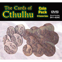 The Cards of Cthulhu - Coin Pack