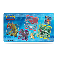 Black & White Rayquaza Dragonite Play Mat