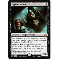 Asylum Visitor ( Shadows over Innistrad Prerealse Foil )