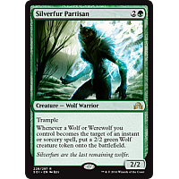 Silverfur Partisan (Shadows over Innistrad Prerelease)