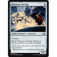Runaway Carriage