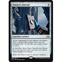 Tamiyo's Journal ( Shadows over Innistrad Prerealse Foil )