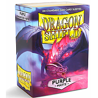 Dragon Shield - Matte Purple (100)