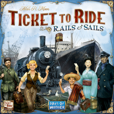 Ticket to Ride: Rails & Sails (Nordisk)_boxshot