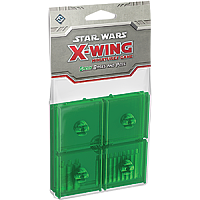 Star Wars: X-Wing Miniatures Game - Green Bases and Pegs