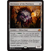 Decimator of the Provinces ( Foil ) ( Eldritch Moon Prerelease )