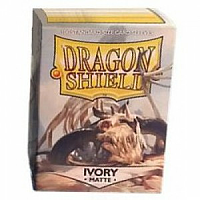Dragon Shield - Matte Ivory (100)
