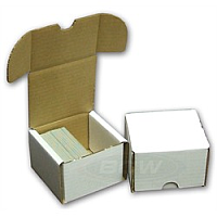 Cardboard Box: 200 Count Storage Box