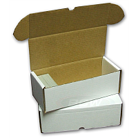 Cardboard Box: 500 Count Storage Box