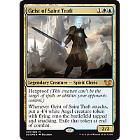 Geist of Saint Traft ( Foil ) ( Duel Decks: Blessed vs. Cursed )