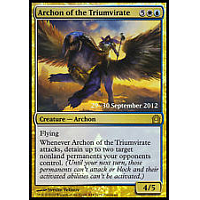 Archon of the Triumvirate ( Foil ) (Return to Ravnica Prerelease)