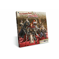 Zombicide: 11 Games Tiles from Black Plague and Wulfsburg