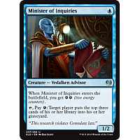 Minister of Inquiries