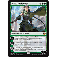 Nissa, Vital Force ( Foil )