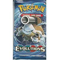 XY- Evolutions booster