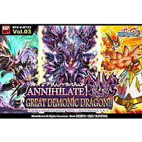 Future Card Buddyfight - Annihilate! Great Demonic Dragon!! - Triple D Booster