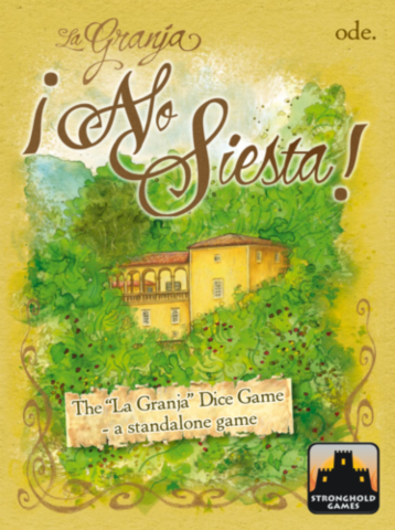 La Granja: No Siesta Dice Game_boxshot