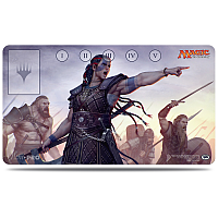Commander 2016 Playmat, Saskia the Unyielding
