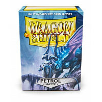 Dragon Shield - Matte Petrol (100)