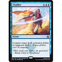 Disallow ( Aether Revolt Prerelease Foil )