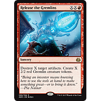 Release the Gremlins ( Aether Revolt Prerelease Foil )