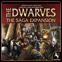 The Dwarves - The Saga Expansion (Limited Edition)