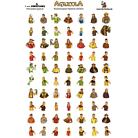 Agricola: Family Member Sticker Sheet