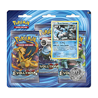 XY- Evolutions: 3-boosters Black Kyurem/Braixen