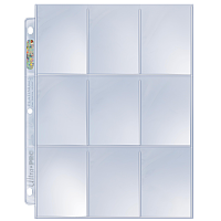 9-Pocket Platinum Page for Standard Size Cards (11-Holes) (1 st) [Pärmsida Pärmsidor]