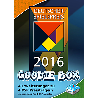 The Deutscher Spielepreis 2016 Goodie Box