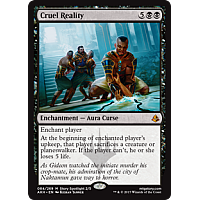 Cruel Reality ( Amonkhet Prerelease Foil )