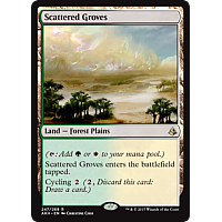 Scattered Groves ( Amonkhet Prerelease Foil )