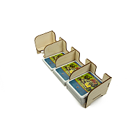 Card Holder: Standard 4 Tray