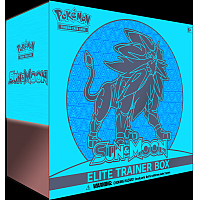 Sun & Moon Elite Trainer Box - Solgaleo