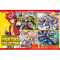 Fighters Collection 2017 - Booster Display (10 Packs)