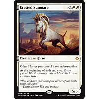 Crested Sunmare ( Hour of Devastation Prerelease Foil )