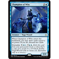 Champion of Wits ( Foil )