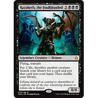 Razaketh, the Foulblooded (Foil)