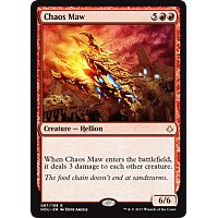 Chaos Maw ( Hour of Devastation Prerelease Foil )
