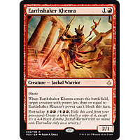Earthshaker Khenra ( Hour of Devastation Prerelease Foil )