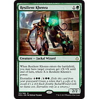 Resilient Khenra ( Hour of Devastation Prerelease Foil )