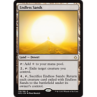 Endless Sands ( Hour of Devastation Prerelease Foil )