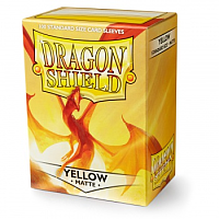 Dragon Shield - Matte Yellow (100)