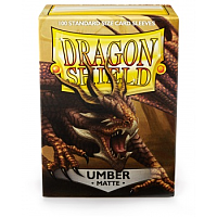 Dragon Shield - Matte Umber (100)